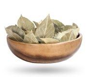 Podpalani liście w pucharu secie, pikantność w pucharze z podpalanym liściem Obraz Royalty Free