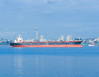 podpalany ładunku elliott Seattle statek Zdjęcie Royalty Free