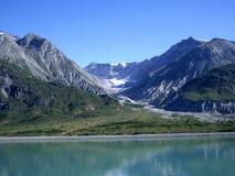 podpalany Alaska lodowiec Zdjęcia Stock