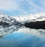 podpalany Alaska lodowiec Zdjęcia Royalty Free