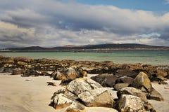 podpalany Atlantic ocean Ireland Obrazy Stock