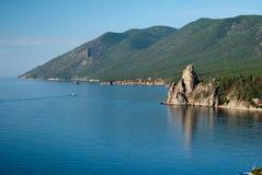 podpalany Baikal jezioro obraz stock