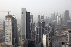 podpalany biznesowy Dubai obraz stock