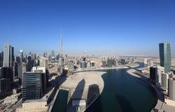 podpalany biznesowy Dubai zdjęcia royalty free