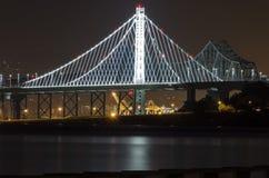 podpalany bridżowy California Francisco San Obraz Stock