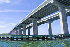 podpalany bridżowy Tampa Obraz Royalty Free