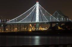 podpalany bridżowy California Francisco San Obraz Royalty Free