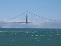 podpalany bridżowy Francisco San Fotografia Royalty Free