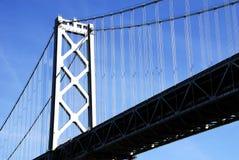 podpalany bridżowy Oakland Fotografia Stock