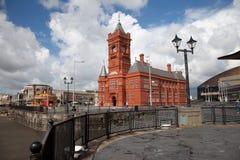 podpalany Cardiff Fotografia Stock