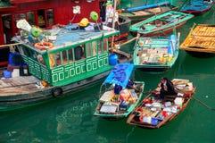 podpalany halong Vietnam Fotografia Stock
