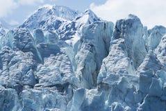 podpalany lodowiec Zdjęcia Royalty Free
