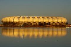 podpalany Mandela nelsonu stadium Zdjęcie Stock