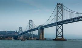 Podpalany most Obrazy Royalty Free