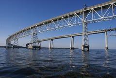podpalany most Zdjęcie Royalty Free