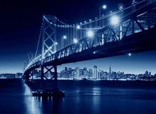 Podpalany most, San Fransisco, Californa, usa Zdjęcie Royalty Free