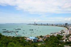 podpalany Pattaya zdjęcie stock