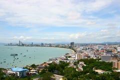 podpalany Pattaya obraz royalty free