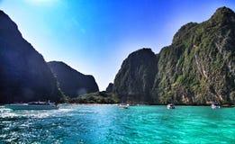 podpalany plażowy majowie Thailand Obrazy Stock