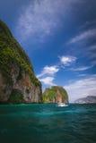 podpalany plażowy majowie Thailand obrazy royalty free