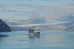 podpalany rejsu lodowa statek Fotografia Royalty Free