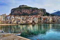 podpalany Sicily Fotografia Royalty Free