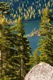 podpalany szmaragdowy jeziorny tahoe obraz royalty free