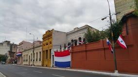 Podpalany teren Asuncion Fotografia Stock