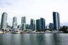 podpalany Vancouver Obraz Royalty Free