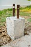 Podpierający cement konstrukcja obraz royalty free