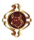podpisuje taurus zodiaka Obrazy Royalty Free