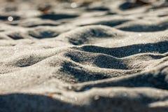 Podpisuje wewnątrz piasek Fotografia Royalty Free