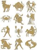 podpisuje zodiaka Zdjęcia Royalty Free