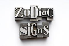 podpisuje zodiaka Obraz Royalty Free