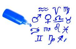 podpisuje zodiaka Obrazy Stock