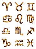 podpisz zodiaka Royalty Ilustracja