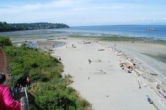 ¡Podría caminar en el piso de Puget Sound! Foto de archivo libre de regalías