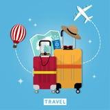 Podróż 03 royalty ilustracja