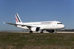 Podróż Airfrance holandie Zdjęcia Stock