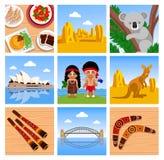 Podróż Australia royalty ilustracja
