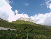 Podr?? Kaukaz g?ry w Kabardino-Balkaria obrazy royalty free