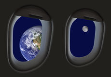 podróż kosmiczna zdjęcie stock