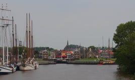 Podróż Lemmer w holandiach i styl życia Zdjęcie Stock