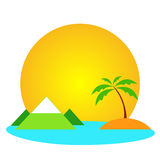Podróż logo Obrazy Royalty Free