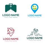 Podróż logo i ikona projekt ilustracja wektor