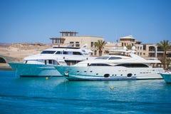 Podróż Luksusowe łodzie Zdjęcie Stock