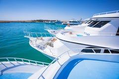 Podróż Luksusowe łodzie Fotografia Royalty Free