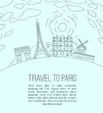 Podróż Paryż 07 A Zdjęcia Stock