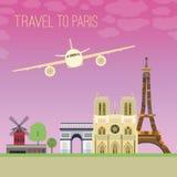 Podróż Paryż 04 A Obrazy Royalty Free