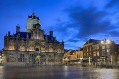 Podróż pomysły i pojęcia Stadhuis Znać jako urząd miasta Zdjęcie Royalty Free